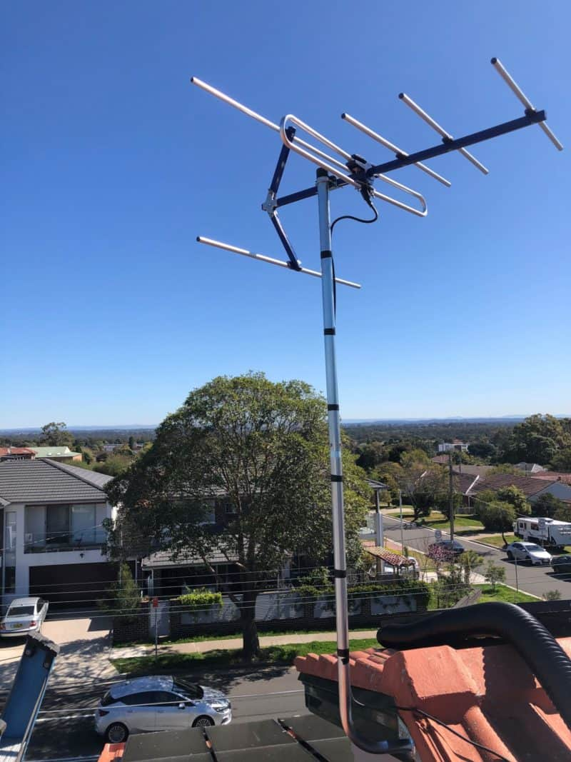 New antenna installed